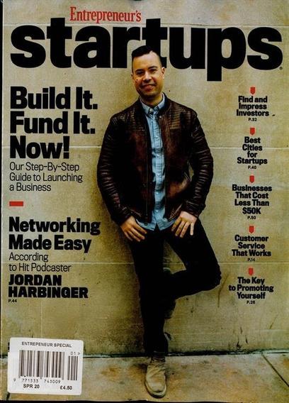 Entrepreneur Revista - Negocios E Gestão - Startups 2020