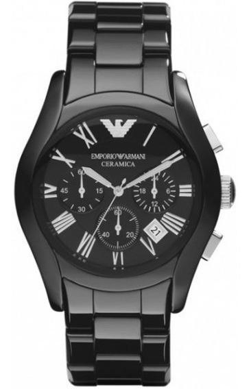 Reloj Emporio Armani Ar1400 Nuevo En Caja Cronógrafo Fechero