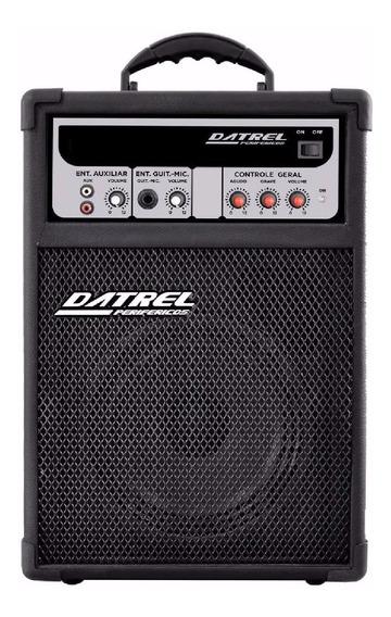 Caixa Amplificada Dmu 50w Rms Para Guitarra Datrel
