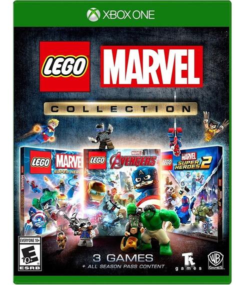 Lego Marvel Collection Xbox One Mídia Física Novo Lacrado