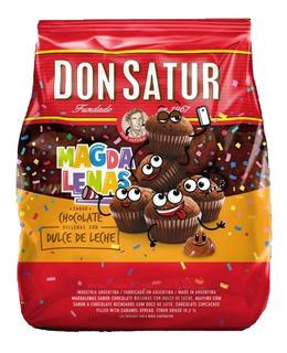 Magdalenas Madalenas Don Satur Chocolate Dulce Leche 250g