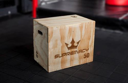 Caja De Salto Supremacy Pequeña  De Madera   40x50x60 Cm