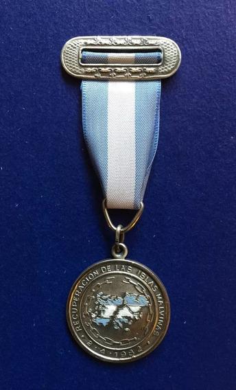 Medalla Condecoración Recuperacion Islas Malvinas