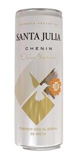 Vino Santa Julia Chenin Dulce Natural Lata 355ml. - Envíos