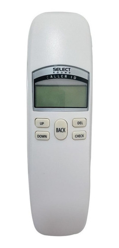 Imagen 1 de 4 de Teléfono fijo Select Sound 8338 blanco