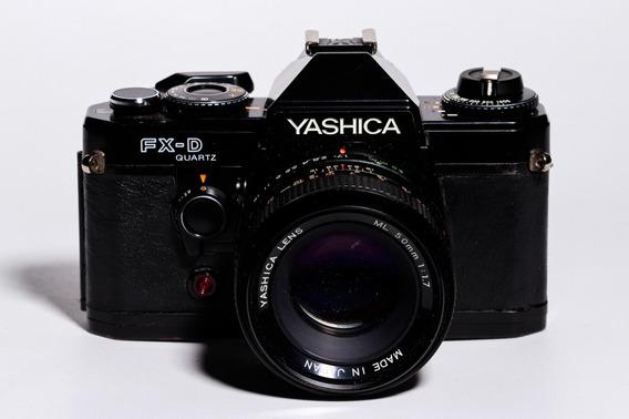 Câmera Yashica Fx-d Quartz