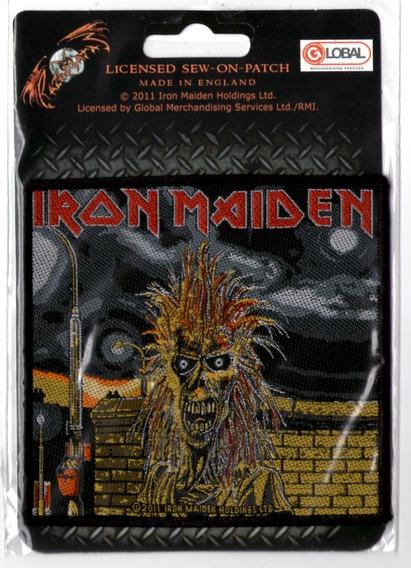Patch Microbordado - Iron Maiden Capa 1o Album 351 - Oficial