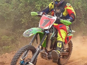 Kx 250 F Kawasaki Trilha Enduro Motocross Excelente Estado