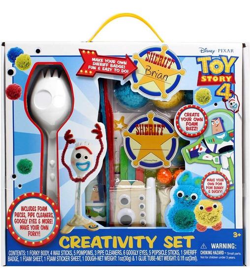 Forky Disney Toy Story 4 Muñeco Creativity Set Original