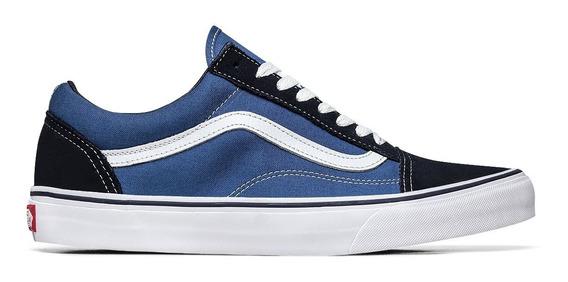 Tênis Vans Old Skool Azul Masculino Novo Sem Uso