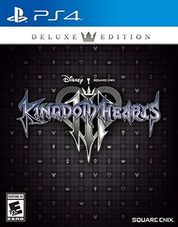 Ps4 Kingdom Hearts Iii Deluxe Edition