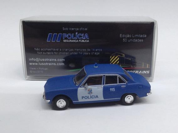 Lusotrains 1/87 Peugeot504 Psp 1983 - Edição Limitada 50 Und