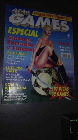 Revista Ação Games 114 Abril De 1997