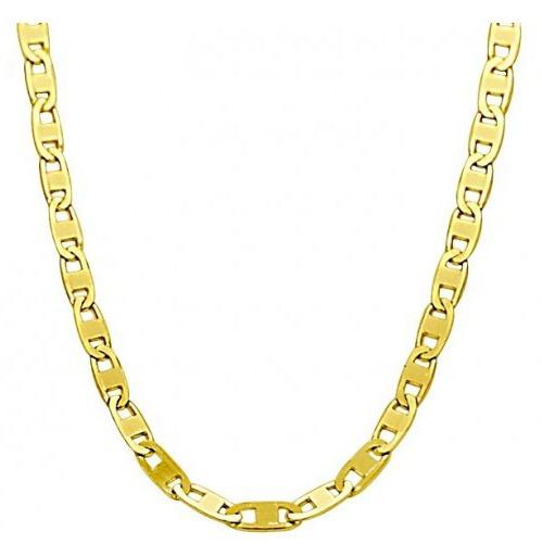 Corrente Em Ouro - 18k 750 - Masculina - Piastrine - 70 Cm