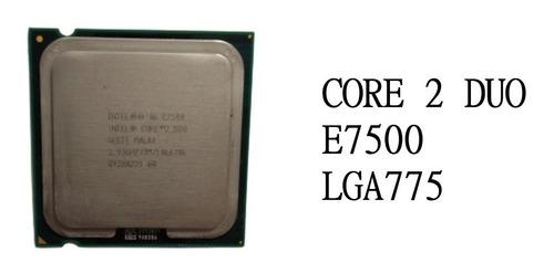 Imagem 1 de 3 de Processador Intel® Core2duo E7500 - 755