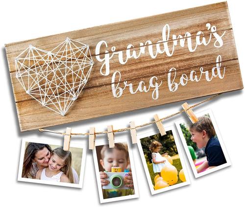 Vilight Grandma?s Brag Board - Gifts For Grammy From Grandda