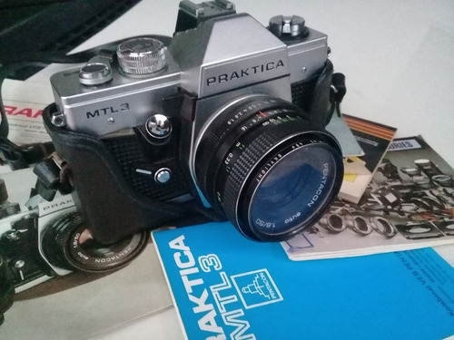 Câmera Fotográfica Praktica Mtl3 Funcionando 35mm X 50mm
