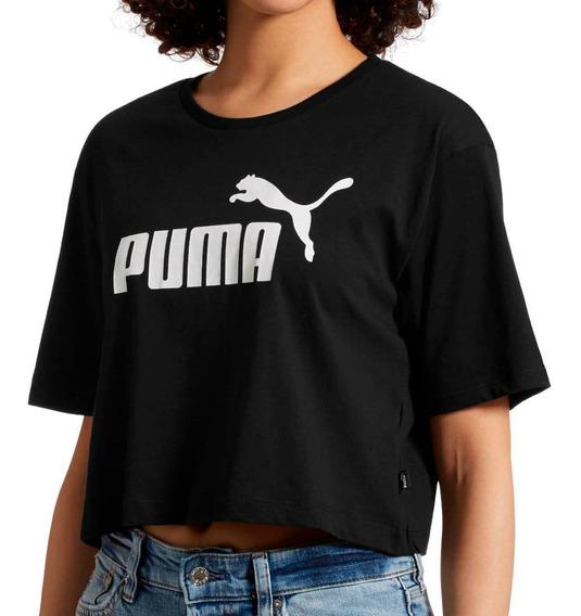 Remera Puma Moda Ess+ Cropped Logo Mujer Ng