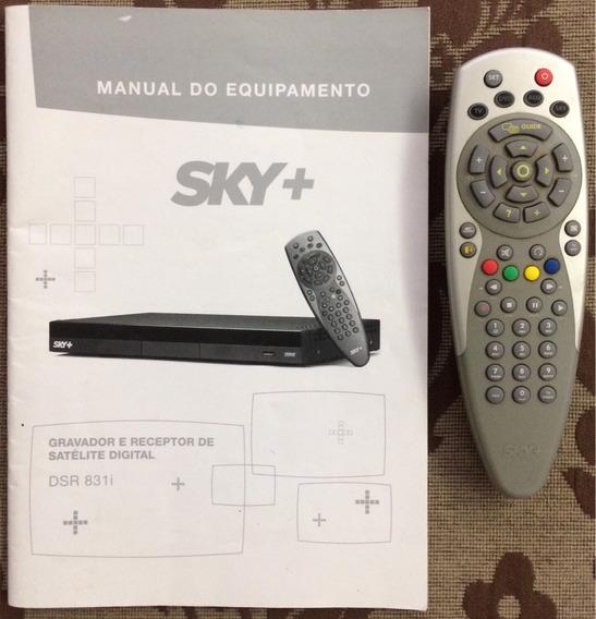 Controle Remoto Universal Sky + Com Manual