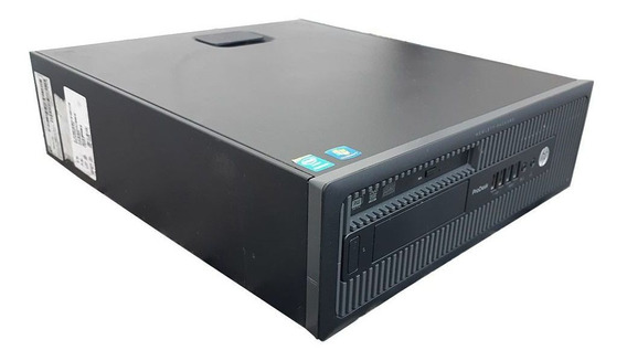 Cpu Hp Prodesk 600 Core I5 4ªg 16gb Ssd 240gb Dvd-rw Wifi