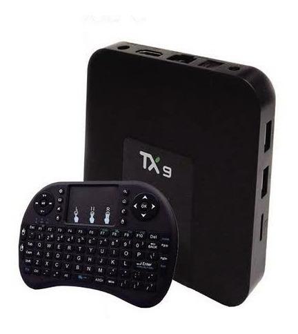 Tv Box Tx9 Original Transforme Sua Tv Em Smart