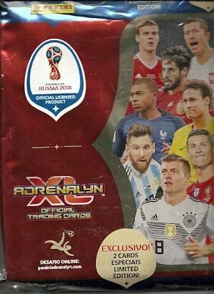 Fichario Pasta Cards Copa Do Mundo Rússia 2018 Adrenalyn Xl