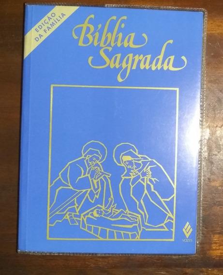 Bíblia Sagrada - Edição Da Família - Média Cristal - Vozes