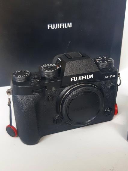 Fujifilm X-t2 Corpo + Bateria Extra