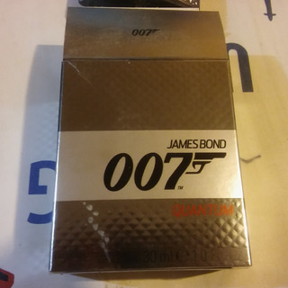 Frasco De Perfume James Bond 007 Vacio Con Caja