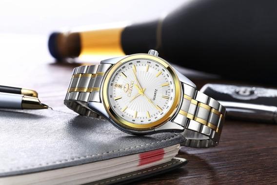 Relógio Masculino Chenxi Social Steel