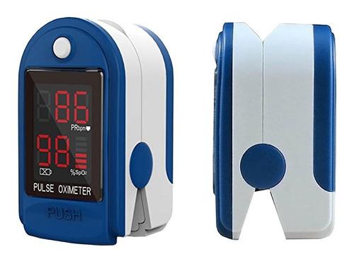 Imagen 1 de 4 de Oximetro De Pulso Contec Adulto Y Pediatrico Saturometro