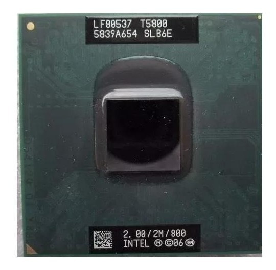 Processador Intel Core 2 Duo T5800 Slb6e