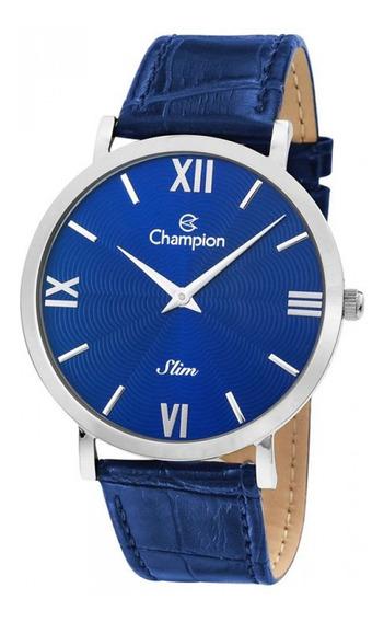 Relógio Champion Analógico Azul Ca21795a