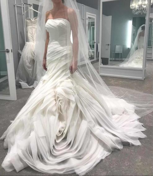 Vestido De Novia White By Vera Wang