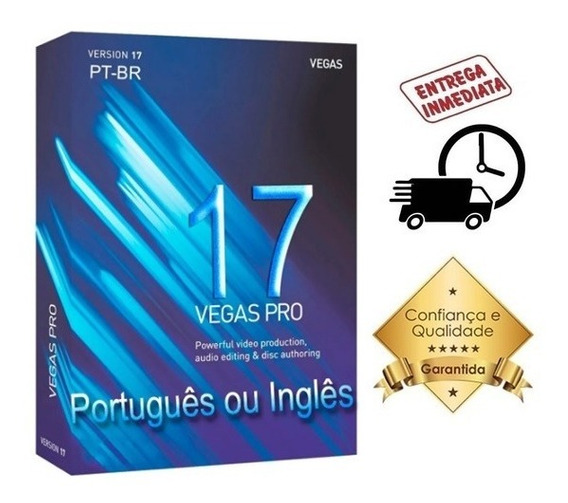 Sony Vegas Pro 17 Em Português Ou Inglês Completo Definitivo