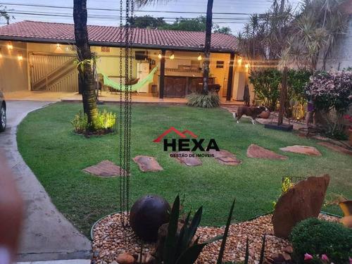 Imagem 1 de 17 de Casa Com 3 Quartos, Nascente, Setor Goiânia 2, Goiânia - Ca0553