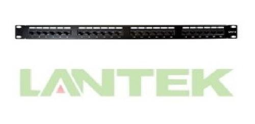 Patch Panel Lantek Ltk-c6p24 Cat6 24 Puertos