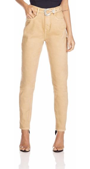 Calça Jeans Denim Zero Mom Com Cinto-dz3280
