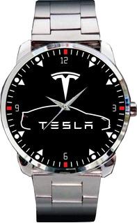 Relógio De Pulso Personalizado Desenho Carro Tesla Eletrico