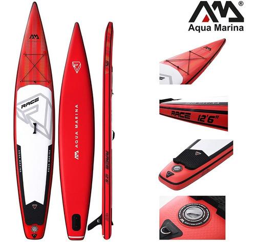 Imagen 1 de 7 de Tabla Surf Inflable(427x75x15) Paddle Board Race Grande,