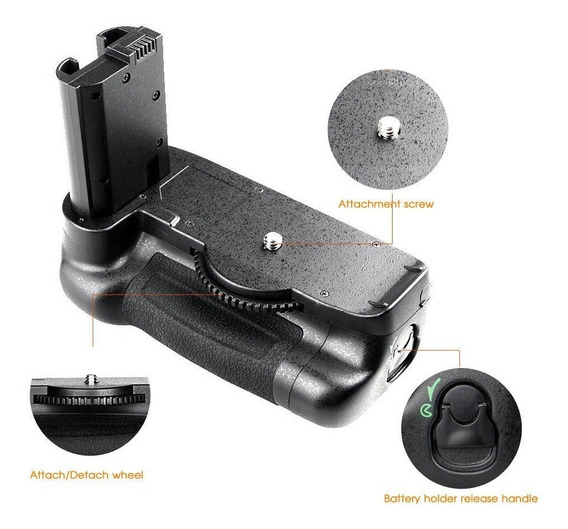 Battery Grip Para Nikon D7500 Bg-2w