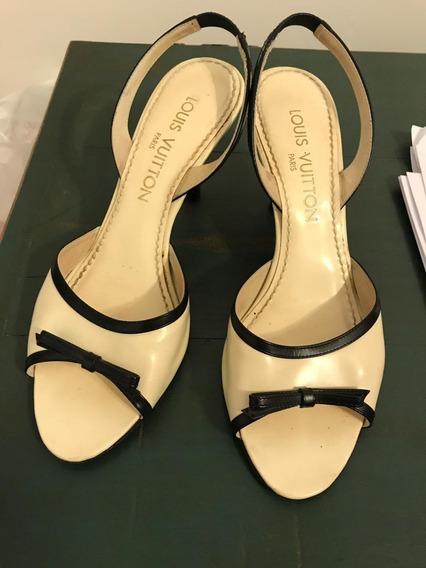 Sapato Couro Louis Vuitton Original Usado