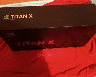 Nvidia Titan XPascal