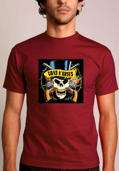 Baby Look Ou Camiseta Guns N