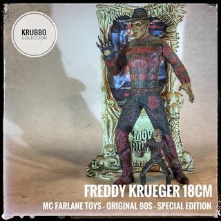 Figura Muñeco Freddy Krueger Elm St Mc Farlane 90s Original