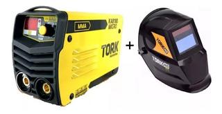 Maquina Solda Inversor Super Tork Kab Ie-6180 + Máscara Auto