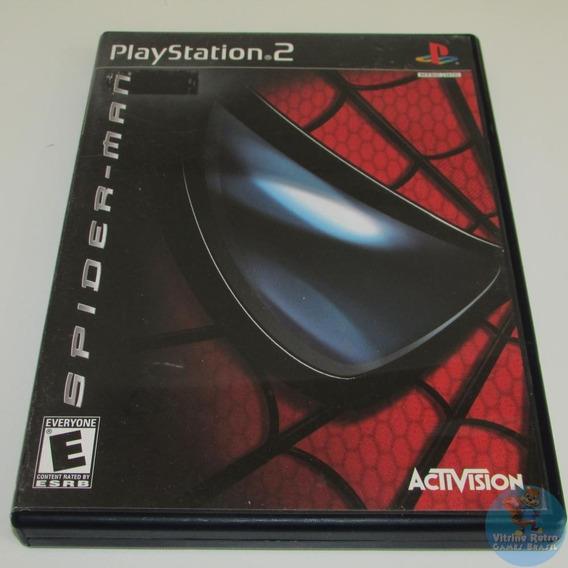 Spider-man Ps2 Original Americano Completo Com Manual!!