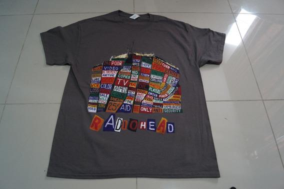 Camiseta Radiohead Rock Activity Importada Talla L