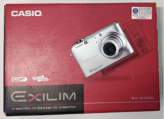 Câmera Casio Exilim 10.1mp