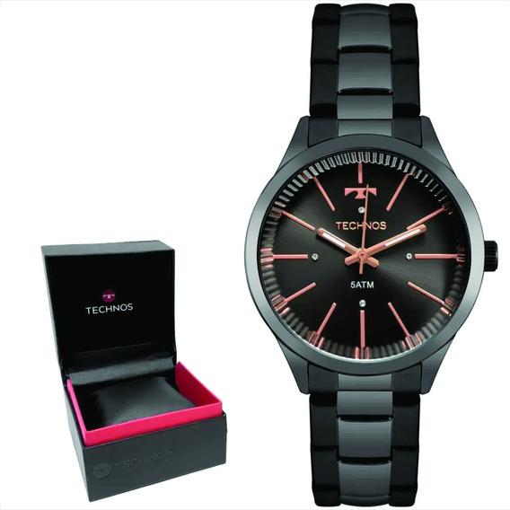 Relógio Technos Feminino Original C/garantia E Nf 2039by/4c
